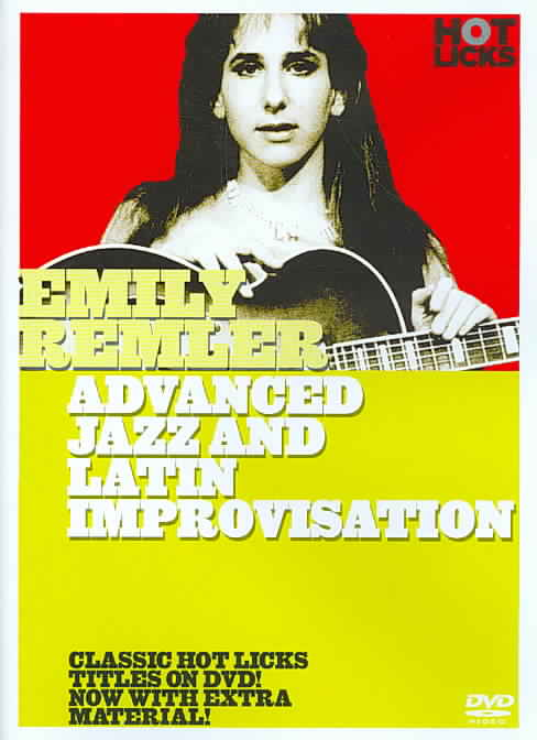 ADVANCED JAZZ & LATIN IMPROVISATION BY REMLER,EMILY (DVD)